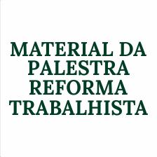 LIVRETO REFORMA TRABALHISTA