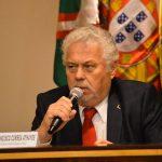 Antônio Francisco Corrêa Athayde, em reunião com representantes portugueses.